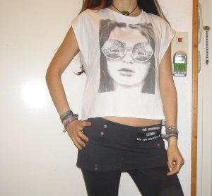 Vero Moda oversize Printhirt weiß S