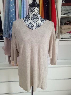 Vero Moda Oversize Pulli Pullover Beige Nude  Shirt Sweatshirt M L XL 38