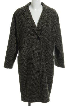 Vero Moda Oversized Mantel schwarz-khaki Elegant