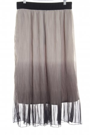 Vero Moda Pleated Skirt color gradient classic style