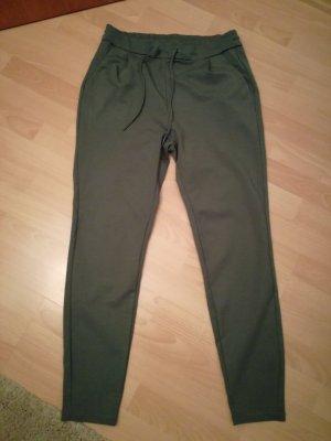 Vero Moda Pantalone cinque tasche verde-grigio
