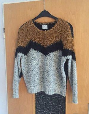 Vero Moda Pullover gr. M schwarz grau braun Blogger