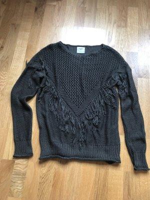 Vero Moda Pullover mit Fransen Größe S
