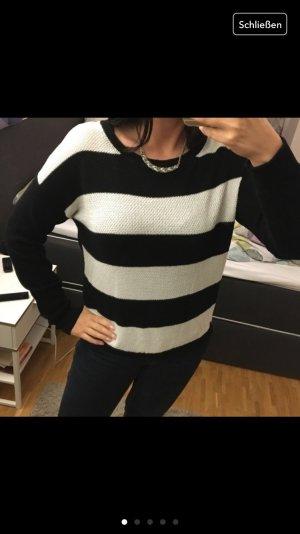 Vero Moda Pullover schwarz weiß