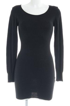 Vero Moda Sweaterjurk zwart casual uitstraling
