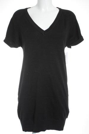 Vero Moda Vestido tipo jersey negro estilo sencillo