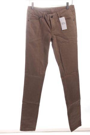 Vero Moda Jeans cigarette marron clair style simple