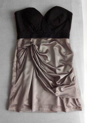 Vero Moda Satin Bandeau Kleid Gr. 38/40