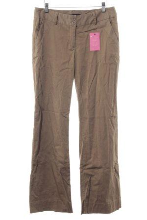 Vero Moda Pantalon pattes d'éléphant chameau style décontracté