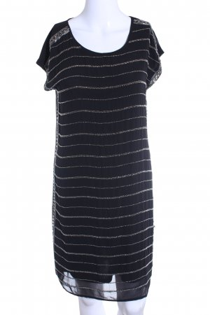 Vero Moda Tube Dress black-silver-colored casual look