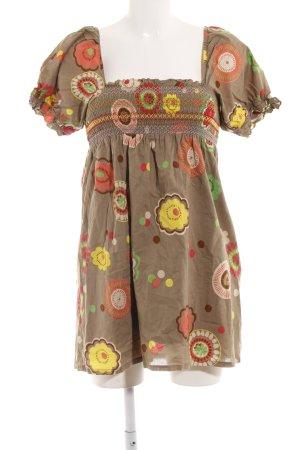 Vero Moda schulterfreies Kleid Blumenmuster Boho-Look