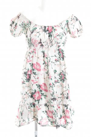 Vero Moda Off the shoulder jurk bloemenprint casual uitstraling