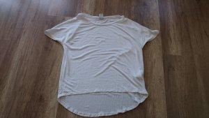 Vero Moda Shirt Bluse Blusenshirt Vokuhila Highlow T-Shirt S