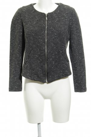 Vero Moda Veste chemise blanc-gris foncé style simple