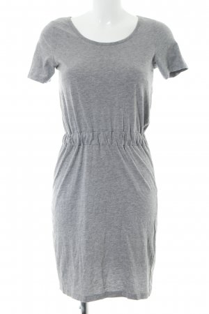Vero Moda Shirtkleid hellgrau meliert Casual-Look
