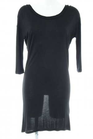 Vero Moda Shirtkleid schwarz Casual-Look