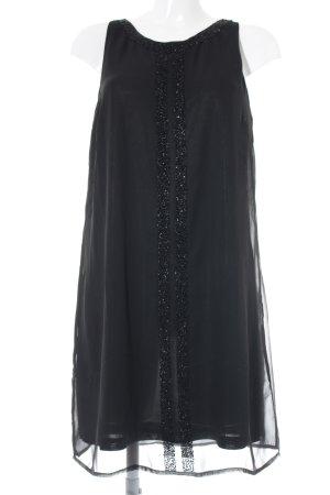 Vero Moda Shirtkleid schwarz Webmuster Casual-Look