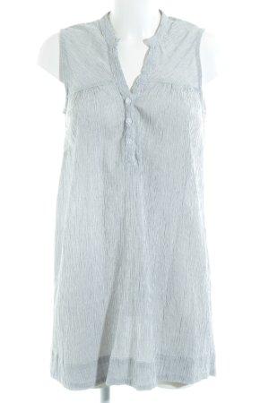 Vero Moda Shirtkleid weiß-dunkelblau Streifenmuster Beach-Look