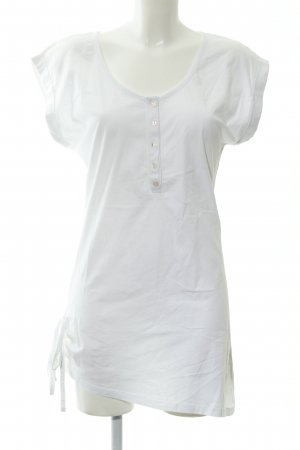 Vero Moda T-shirt jurk wolwit simpele stijl