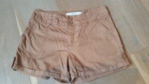 Vero Moda Short moulant chameau-orange foncé coton