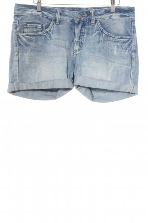 Vero Moda Shorts blau Casual-Look