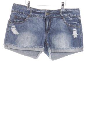Vero Moda Shorts blau Casual-Look
