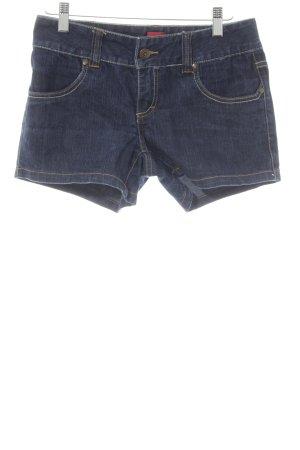 Vero Moda Shorts dunkelblau Casual-Look