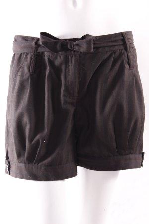 Vero Moda Shorts Nadelstreif schwarz