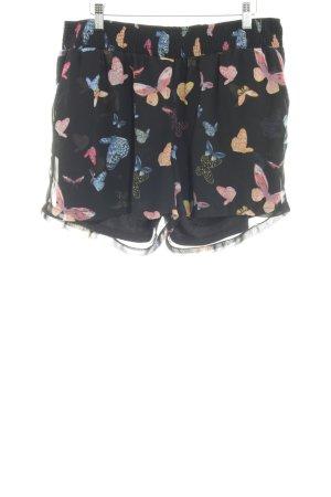 Vero Moda Short noir motif animal style décontracté