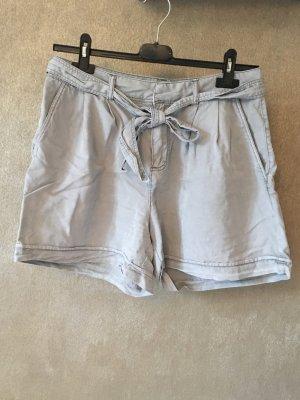Vero Moda Shorts Stoffhose grau Schleife Gr. S