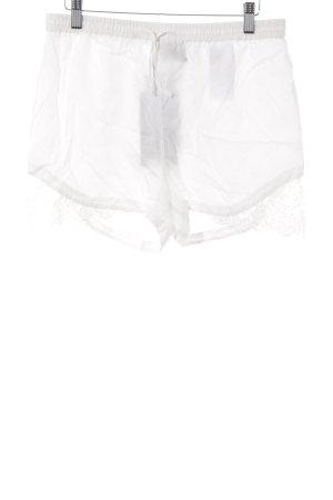 Vero Moda Shorts wollweiß Lingerie-Look