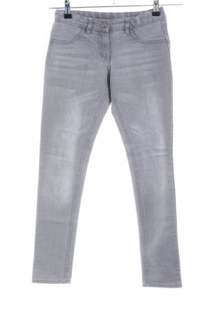 Vero Moda Skinny Jeans hellgrau Casual-Look