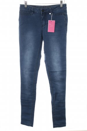 Vero Moda Skinny Jeans blau Washed-Optik