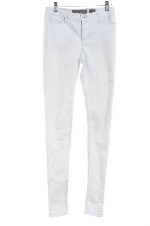 Vero Moda Skinny Jeans graugrün Metallknöpfe