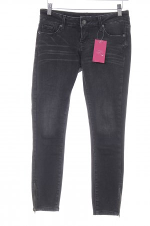 Vero Moda Skinny Jeans schwarz Washed-Optik