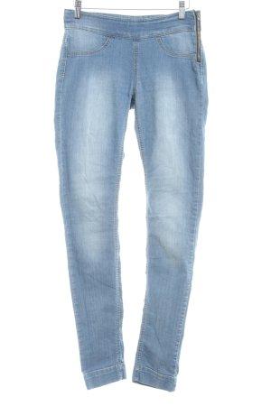 Vero Moda Skinny Jeans stahlblau Washed-Optik