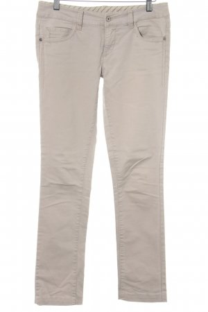 Vero Moda Slim Jeans beige Street-Fashion-Look