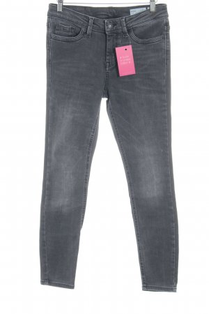 Vero Moda Slim Jeans dunkelgrau Casual-Look