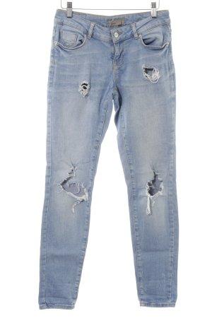 Vero Moda Slim Jeans himmelblau Casual-Look
