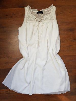 Vero Moda Sommerkleid weiß chiffon