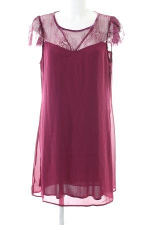 Vero Moda Spitzenkleid pink Elegant