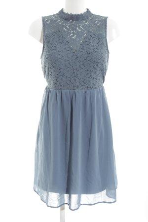 Vero Moda Robe en dentelle bleu motif de fleur style décontracté