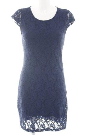 Vero Moda Robe en dentelle bleu élégant