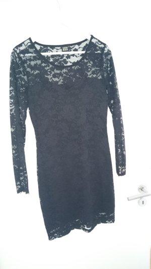 Vero Moda Spitzenkleid, Kleid, schwarz Gr M