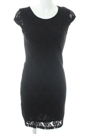 Vero Moda Spitzenkleid schwarz Casual-Look
