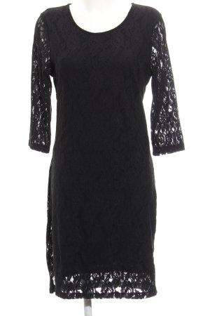 Vero Moda Kanten jurk zwart elegant