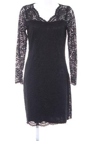 Vero Moda Spitzenkleid schwarz Elegant