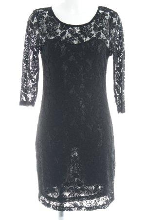 Vero Moda Lace Dress black floral pattern lace look