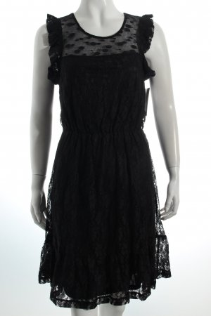 Vero Moda Spitzenkleid schwarz Romantik-Look