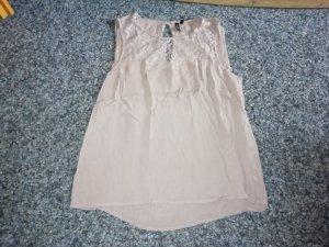 Vero Moda Top di merletto rosa antico